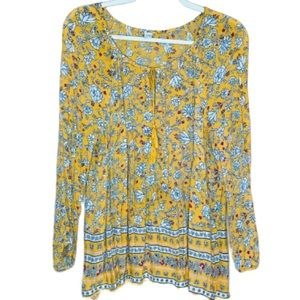 OLD NAVY women's tunic blouse long sleeves XL